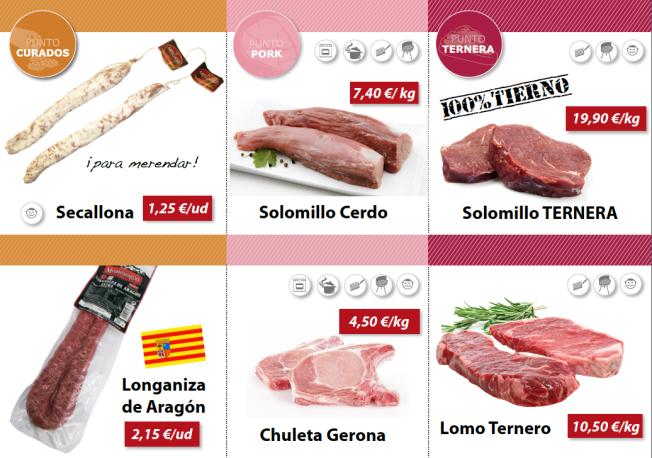 puntocarne ofertas fribin carne